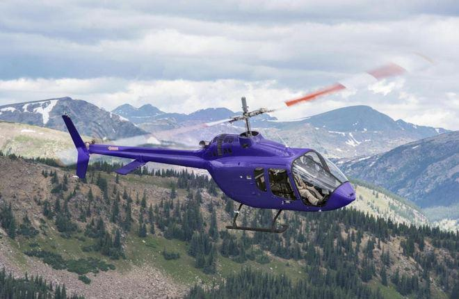 Производитель «Bell Helicopter» осуществил поставку 1-го «Bell-505» (Jet Ranger-X)