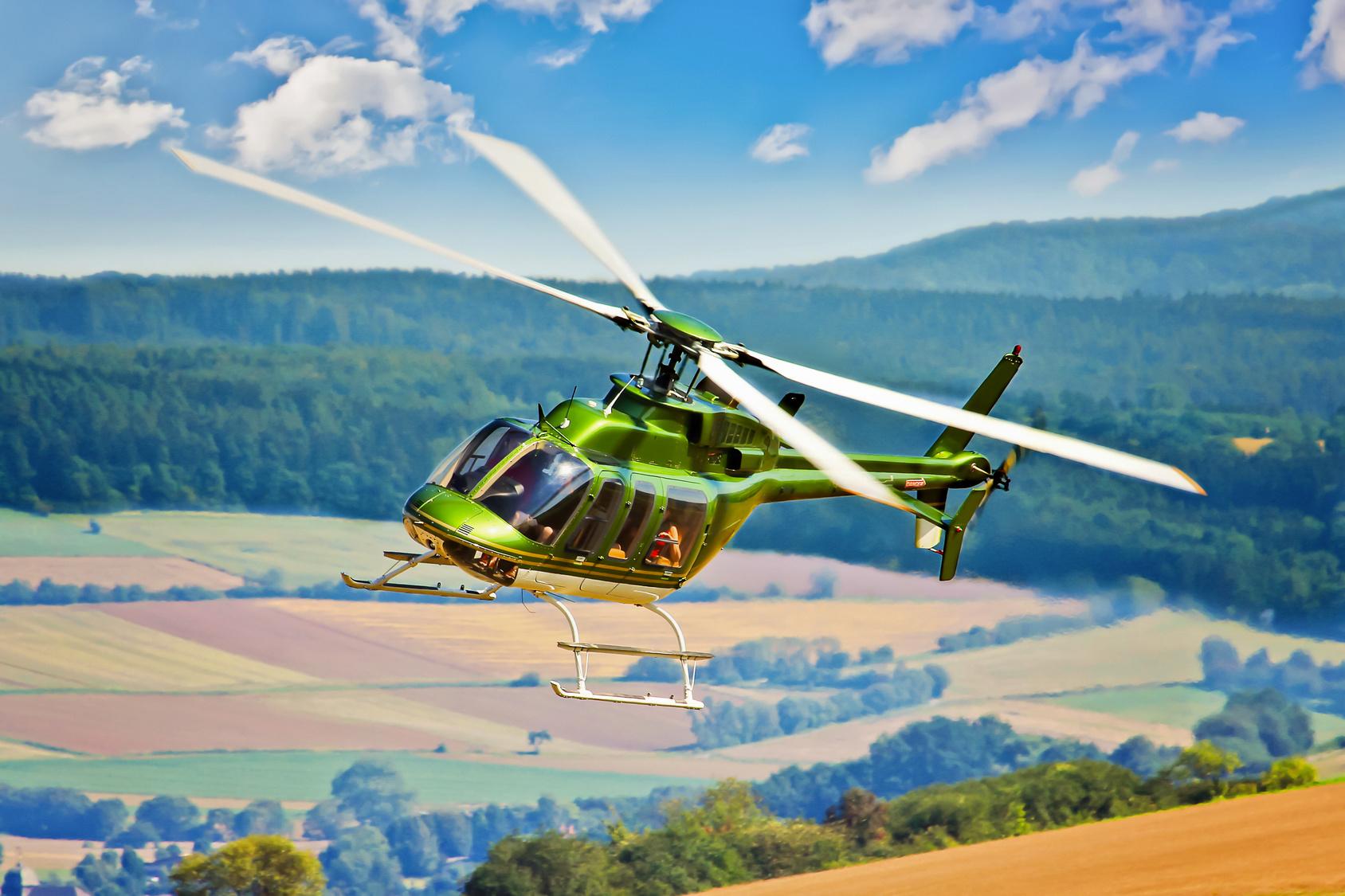 Чем хорош вертолетный трансфер?